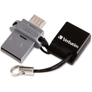 32GB STORE N GO DUAL USB FLASH DRIVE FOR OTG DEVICES