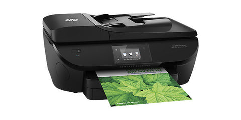 HP Officejet 5740 Colour Inkjet Print Copy Scan Fax Web Photo Wireless Duplex E-ALL-IN-ONE Printer