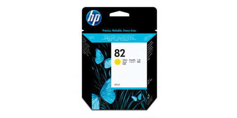 HP #82 Yellow Ink Cartridge for DesignJet 10PS/20PS/50[S/120/500/500PS/800/800PS Printers