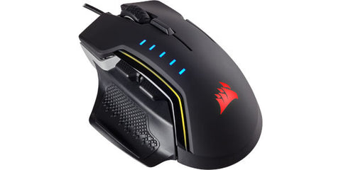 Corsair Gaming Glaive RGB Gaming Mouse - Backlit RGB LED - 16000 DPI - Optical - Aluminum - Pre-Order