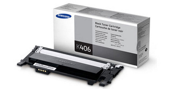 Samsung CLT-K406S/XAA Toner Cartridge - Black