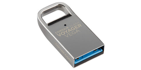 Corsair 64GB Flash Voyager Vega USB 3.0 Mini Metal Unibody Flash Drive