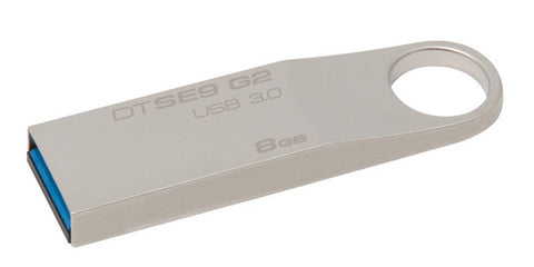 Kingston DataTraveler SE9G2 8GB USB3.0 Flash Drive (Metal Casing) Canada Retail