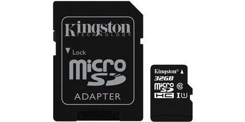 Kingston SDC10G2/32GBCR 32GB microSDHC Class 10 UHS-I 45R Flash Card Canada Retail