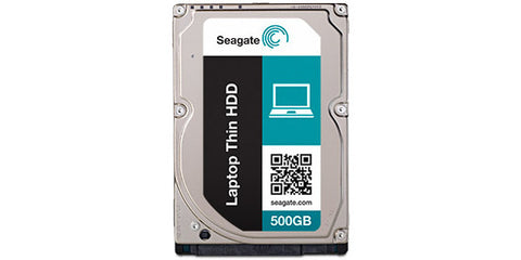 Seagate Momentus Laptop Thin 2.5in 500G 32MB 7MM 7200RPM Internal Hard Drive Disk HDD