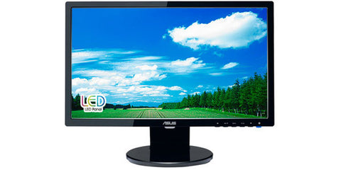 ASUS VE198T 19IN Widescreen LCD Monitor 1440X900 5ms 250CD/M2 10000000:1ASCR DVI VGA
