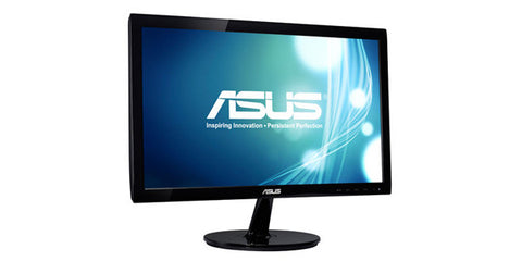 ASUS VS207D-P LED Backlight 19.5INCH Wide 5ms 80000000:1 1600X900 D-Sub Black Monitor