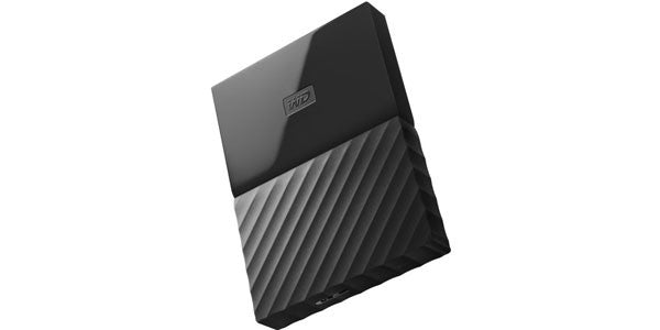 WD My Passport 1TB USB3.0 Portable External Hard Drive - Black