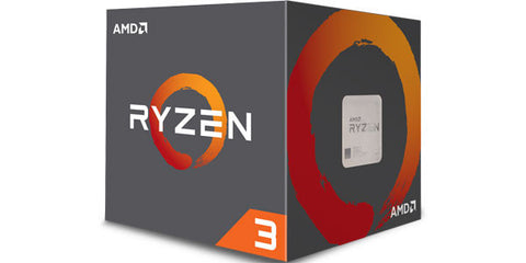 AMD RYZEN 3 1200 Processor 3.1/3.4GHZ 4 Core 4 Thread 65W TDP AM4 w/ Wraith Stealth Cooler - Back Order