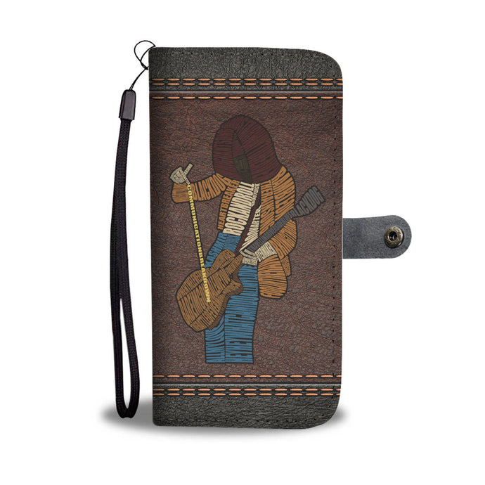 Rock Your Phone - Page Wallet Case