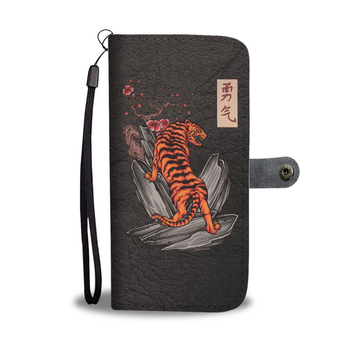 Rock Your Phone - Japanese Tiger Wallet Case