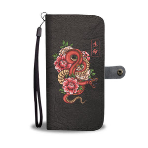 Rock Your Phone - Japanese Snake Wallet Case