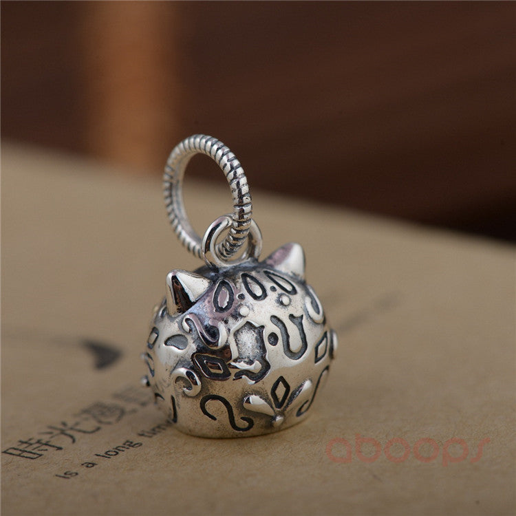 Sterling Silver Sugar Cat Pendant