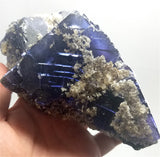 Illinois Fluorite 044 W/Witherite