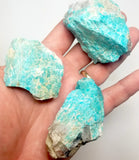 PARCEL 35 AMAZONITE W/MICA LAKE GEORGE,CO. MED LARGE SIZE