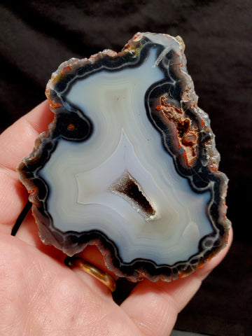 "RED FOX AGATE #48 ""WHITE GHOST"""