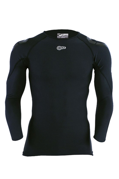 Athlete Long Sleeve Top - Mens Black