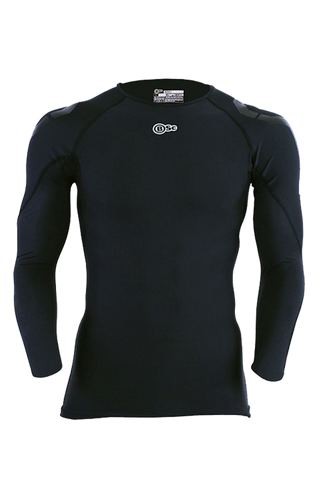 Athlete Long Sleeve Top - Mens Black - Body Science New Zealand