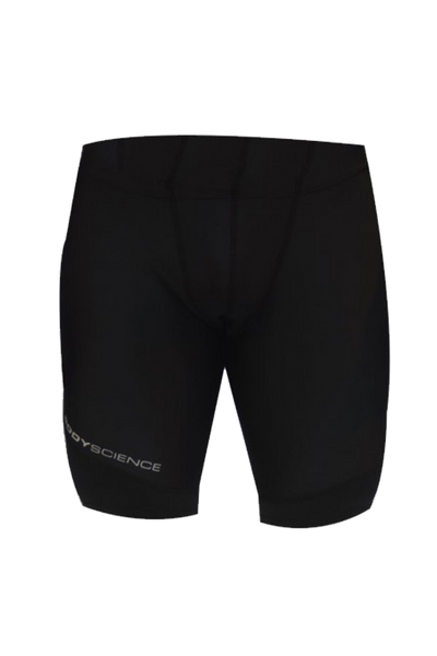 YOUTH Athlete Quad Shorts - Black - Body Science New Zealand