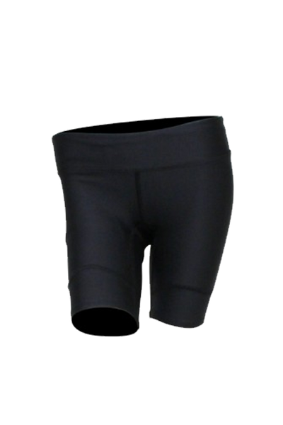 Athlete Shorts - Womens Black - Body Science New Zealand
