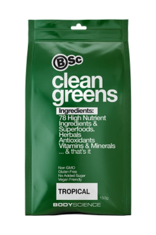 Clean GREENS 150gm - Body Science New Zealand