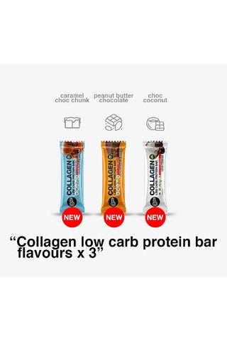 Collagen Low Carb Protein Bar 60g (X 12)