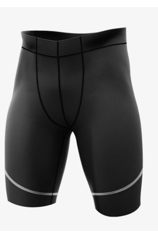 Athlete Full Quad Shorts - Mens Black