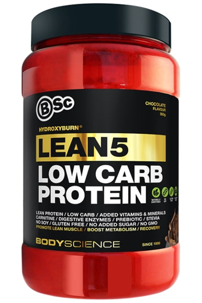HydroxyBurn LEAN5 Low Carb Protein - Body Science New Zealand