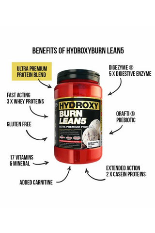 HydroxyBurn LEAN5 Low Carb Protein