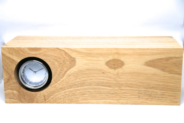 Wooden Tube Clock