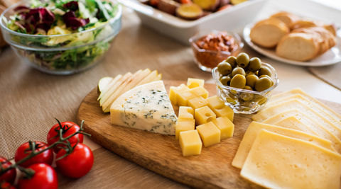 5 happy cheeses to top off your meals