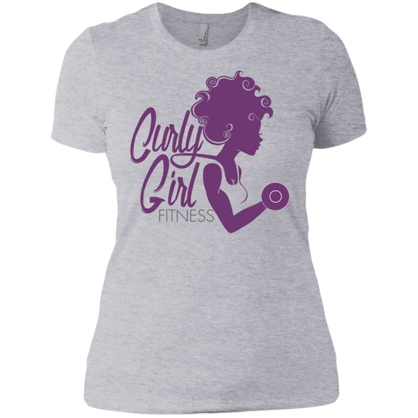 Curly Girl Fitness Logo Tee