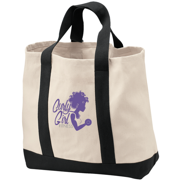 Curly Girl Fitness Shopping Tote