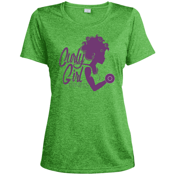 Curly Girl Fitness Logo Dri-Fit Moisture-Wicking Tee