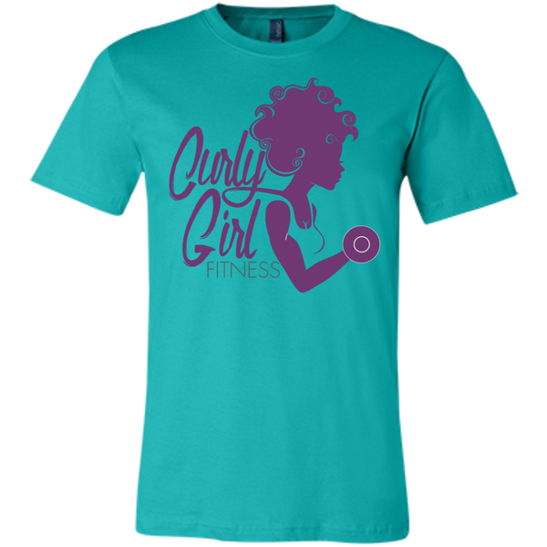 Curly Girl Fitness Logo Shirt
