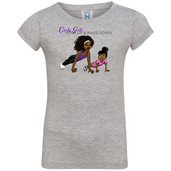 Push Up Toddler Shirt