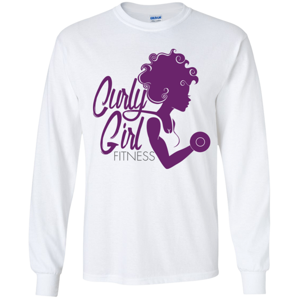 Curly Girl Fitness Youth Long Sleeve T-Shirt