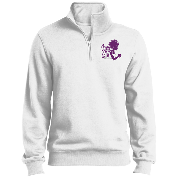 Curly Girl Fitness 1/4 Zip Sweatshirt