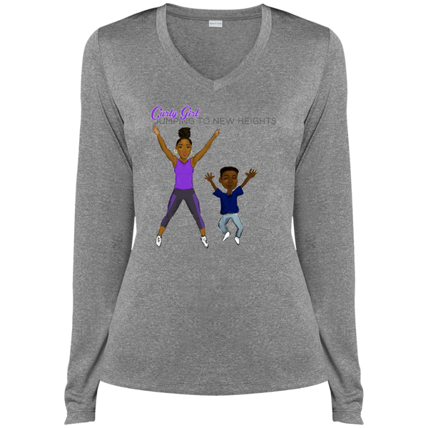Jumping Jack Dri-Fit V-Neck Tee