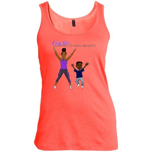 Jumping Jack Scoop Neck Tank Top