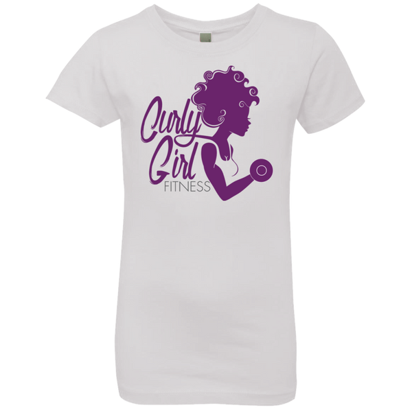 Princess Curly Girl Fitness T-Shirt