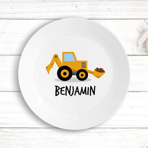 Little Digger Kids Plate