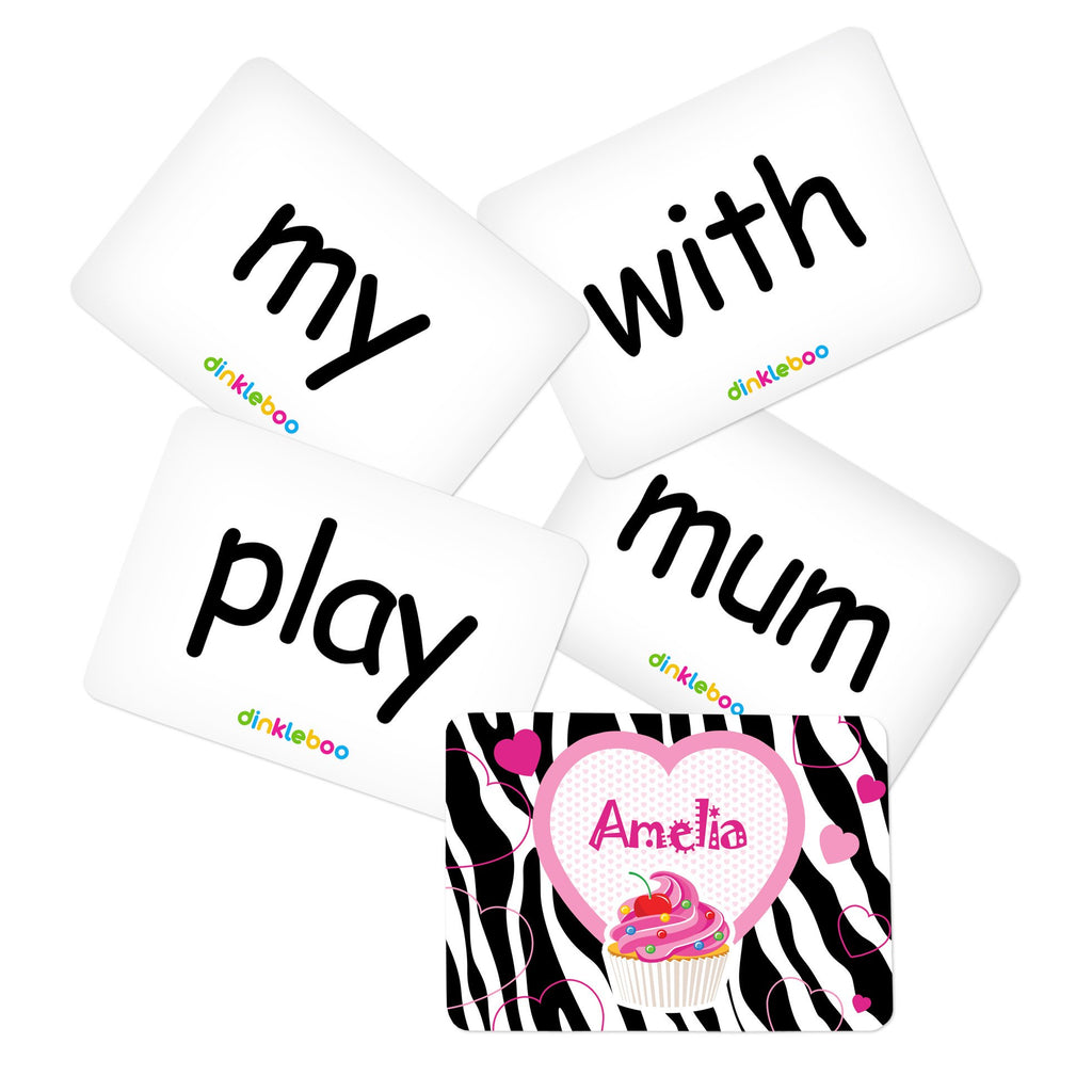 Cupcake Memory Game Sight Words Pack 2
