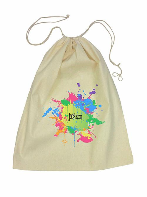 Drawstring Bag - Splatter
