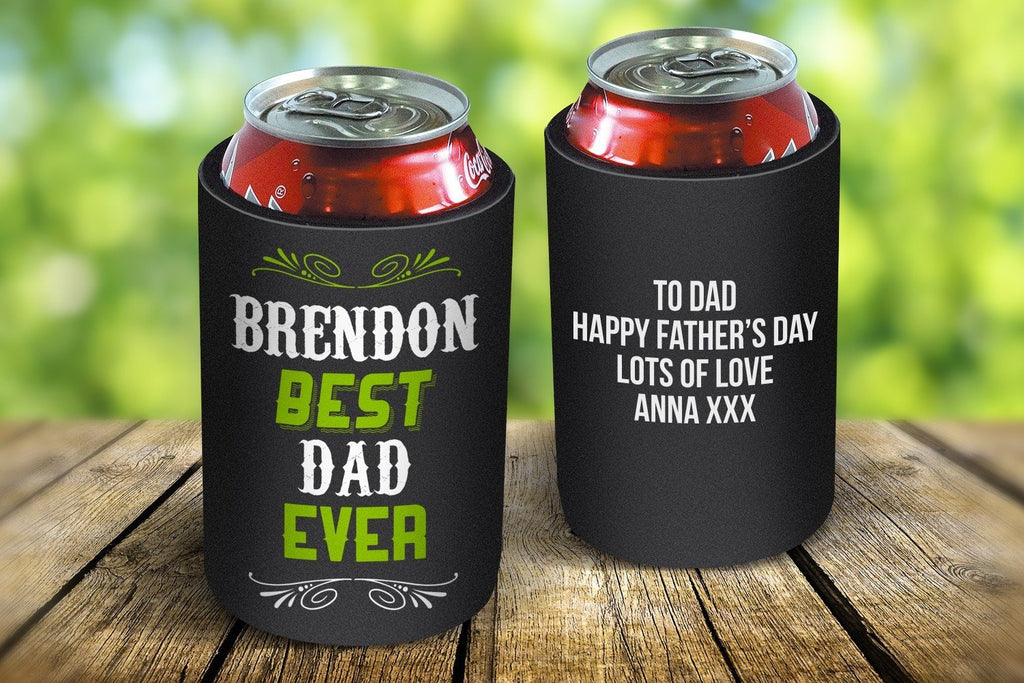 Best Dad Ever Stubby Cooler