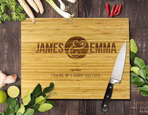 Cooking Up A Storm Bamboo Cutting Boards 12x16""