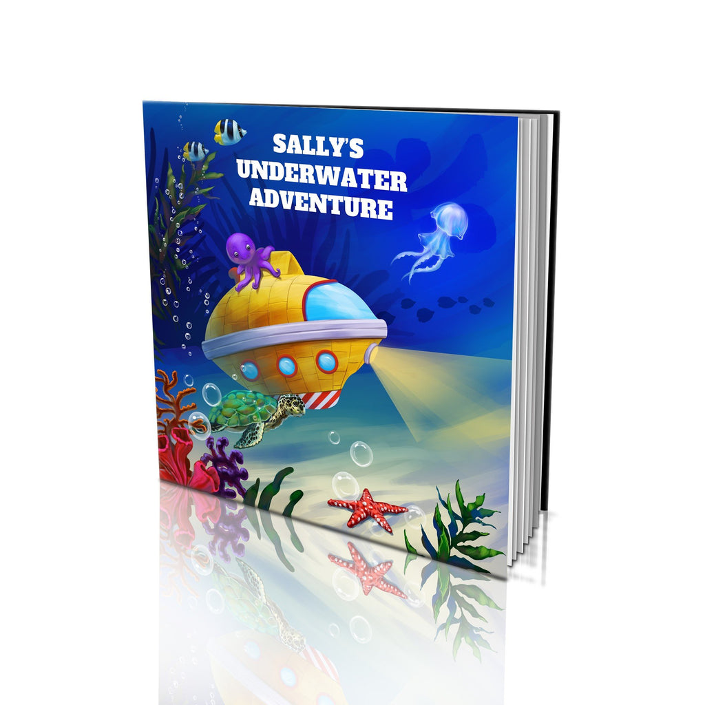 Large Soft Cover Story Book - Underwater Adventure