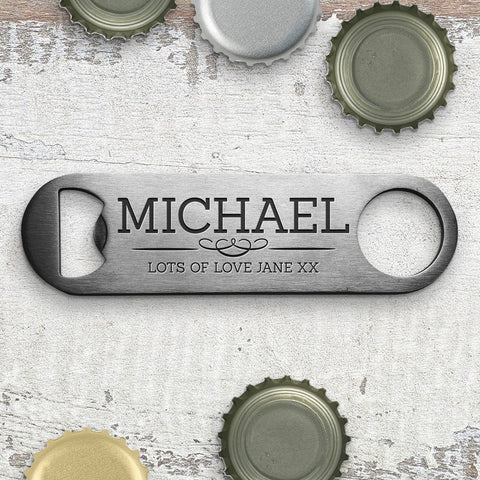 Classic Engraved Bottle Opener