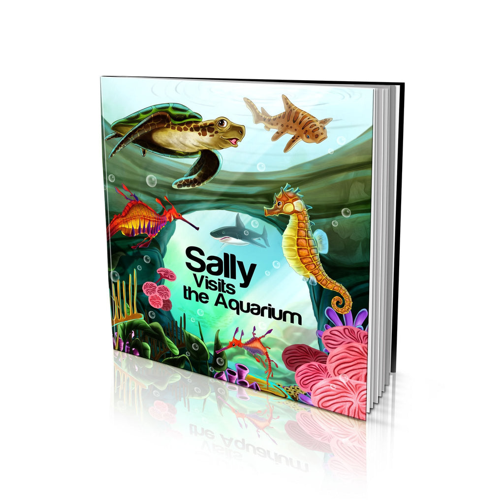 Large Soft Cover Story Book - Visits the Aquarium