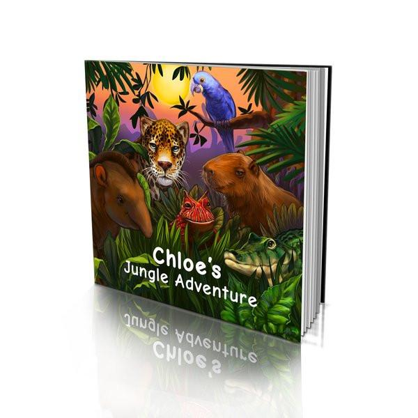 Soft Cover Story Book - Jungle Adventure